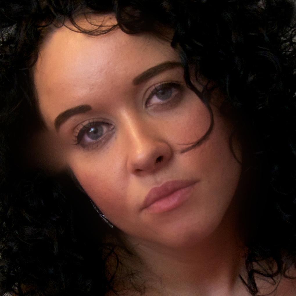Hispanic woman with black hair